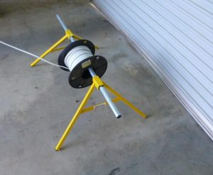 Cable Reel Stand - Adept Direct